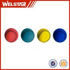 Cuctomized Solid Toy Baseball Colorful High Bouncing Rubber Ball #baseball, #ball