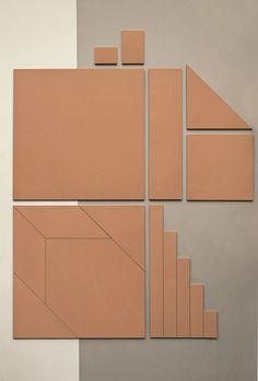 Pavimento/rivestimento in gres porcellanato TIERRAS INDUSTRIAL ASH Collezione TIERRAS by MUTINA | design Patricia Urquiola
