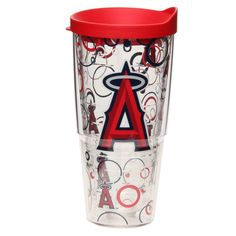Los Angeles Angels of Anaheim Tervis 24oz. Bubble Up Wrap Tumbler with Lid - $24.99