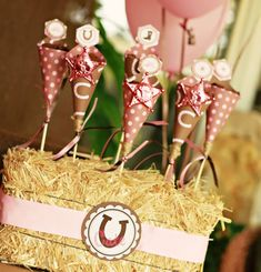 vintage candy theme party | Pink Cowgirl Pony Party | Blowout Party, making parties fabulous and ...