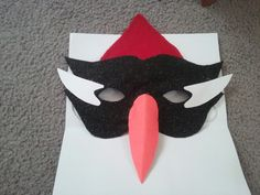 Woodpecker mask