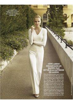 Charlene Wittstock, фото Ruven Afanador в Paris Match No.3229 7 -13 апреля 2011