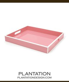 This lacquered tray is elegantly hand-crafted with a polished look. Its two-tone detailing and high gloss finish make for a luxurious serving piece. Pastel Kitchen, Bed Tray, Red Bedding, Kitchen Organization, Organizing, Laque, Kelly Green, Home Goods, Bamboo