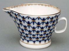 Lomonosov porcelain - Cobalt Net