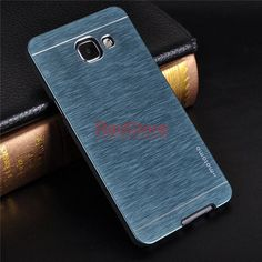 MOTOMO Brushed Aluminum Case For Samsung A3 2016 PC Phone Cases for Samsung Galaxy A5 2016 A7 A3 J3 J5 2016 Protective Cover