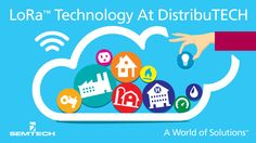 #IoT Semtech LoRaTechnology Used in IoT Demonstrations at #DistribuTECH2016  #event