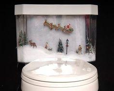 Toilettes insolites - décos de WC étranges - http://www.2tout2rien.fr/toilettes-a-la-decoration-insolite/