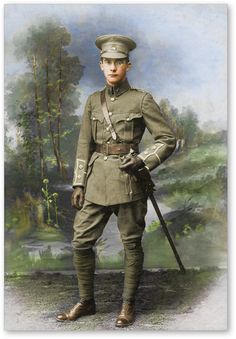 WW1 British Army Officer.