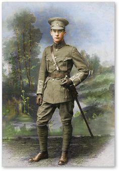 WW1 British Army Officer.