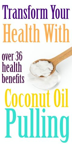 Transform Your Health With Coconut Oil Pulling If we told you to go ahead and scoop out a tablespoon of raw organic coconut oil from the jar and swish it around your mouth, you may call us crazy. Raw Organic Coconut Oil, Coconut Oil Uses, Benefits Of Coconut Oil, Health And Beauty, Health And Wellness, Health Tips, Gut Health, Natural Cures, Natural Health