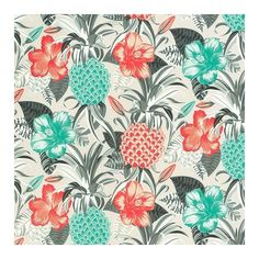 Pina Colada Outdoor Fabric (€83) ❤ liked on Polyvore featuring home, home improvement and fabric