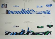 dazzle camouflage by Jan Gordon