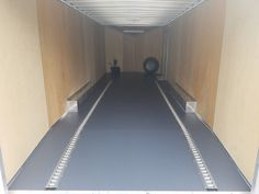The Basics: Steve installed the BLT Small Coin Trailer Flooring. He did a great job with the installation, and his trailer looks great! Garage Floor Mats, Garage Floor Epoxy, Epoxy Floor, Garage Flooring, Garage Door Paint, Trailer Manufacturers, G Floor, Garage Floor Coatings