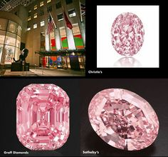"A 5.5-carat fancy vivid pink diamond was the shining star of yesterday's Important Jewels sale at Christie's New York as it earned a top bid of $9.57 million, more than $2 million above its pre-auction estimate. Learn more about other famous pink diamonds, including the ""Graff Pink"" and ""Pink Star"" at our daily blog. http://nordjewelers.thejewelerblog.com"