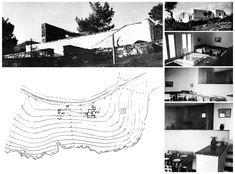 "1938 Aris Konstantinidis ""see map Attica Greece, Oil Refinery, Weekend House, Art Of Living, Athens, Greek, Building, Home Decor, Stuff Stuff"