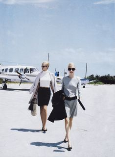 Can You Find True Love at the Airport? Photographed by Pamela Hanson, Vogue, July 1995