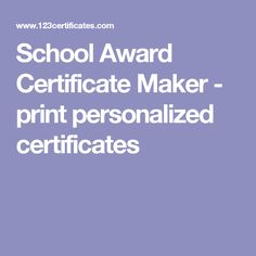Ecology Award Certificate Maker - make environment, Earth day or gardening awards Certificate Maker, Award Template, Honor Student, School Themes, End Of Year, Earth Science, Ecology, Free Printables, Awards