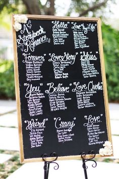 """How cute is this wedding sign with a """"Storybook Romance"""" theme? Photo: Ashley Brooke Photography via Knots Villa"""
