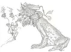 Shaolin Cowboy illustration by Geof Darrow.