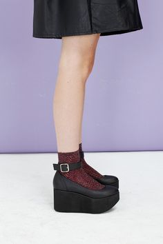 Mary Jane Platform Wedge <3 http://www.thewhitepepper.com/collections/shoes/products/mary-jane-platform-wedge-black