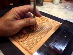 KubotaCraft 2011.09 Wallte Carving 5th step for Basket & Border tooling