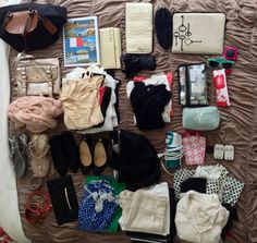 Packing for two weeks in a carry on size bag