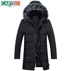 119.07$  Watch here - http://aij18.worlditems.win/all/product.php?id=32795920902 - Cartelo/brand  2016 Thick Winter Fox Fur With A Cap Jacket Men Long Hooded Warm Coat  For Man