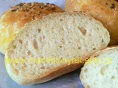 Bezlepkové housky Gluten Free Recipes, Bread, Baking, Food, Glutenfree, Bread Making, Gluten Free, Meal, Patisserie