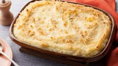 Cooking Channel serves up this Baked Mashed Potatoes with Parmesan Cheese and Bread Crumbs recipe fr Baked Mashed Potatoes, My Favorite Food, Favorite Recipes, Dry Bread Crumbs, Food Mills, Homemade Butter, Desert Recipes, Greek Recipes, Yummy Recipes
