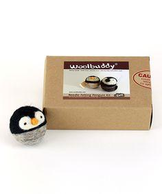 Loving this Woolbuddy Penguin Needle Felting Kit on #zulily! #zulilyfinds