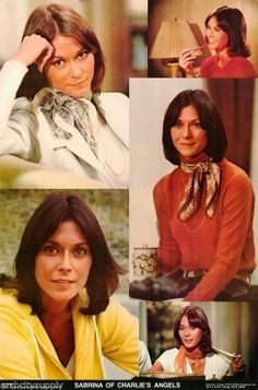 Kate Jackson as Sabrina Duncan on Charlie's Angels