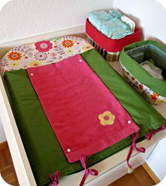 Id es couture on pinterest tour de lit bebe and couture - Tuto housse matelas a langer ...