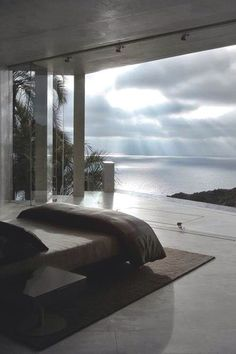 Entspannung Blick aufs Meer - Wohnen - Schlafzimmer Entspannung Blick aufs Meer - Wohnen - Retractable Clothes Line home interior design Beautiful Bedrooms, Beautiful Homes, Beautiful Places, Amazing Bedrooms, Beautiful Sky, Dream Rooms, Dream Bedroom, Bedroom Beach, Bedroom Decor
