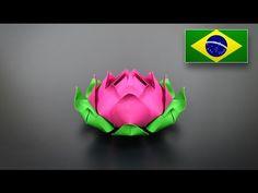 Origami: Rosa Cubo Transformer ( Valerie Vann ) - Instruções em português PT BR - YouTube