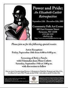 Elizabeth Catlett: Syracuse Community Folk Art Gallery
