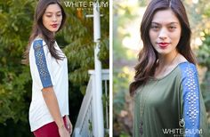Denim Studded Tops - 2 Colors! 50% off at Groopdealz