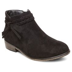 Girls' Nyssa Braided Straps Ankle Boots Cat & Jack