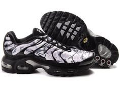 HkCY0Y Nike Air Max Tn Shoes Mens White Snow/Black