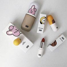 ― 𝘵𝘢𝘦𝘯𝘰𝘴𝘩 🌫 - Types Of Makeup Brushes - Maquillaje Bts Makeup, Skin Makeup, Makeup Brushes, Beauty Makeup, Makeup Style, Makeup Geek, Kawaii Makeup, Korean Make Up, Types Of Makeup