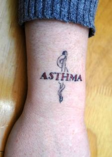 inspiration for a medical alert tattoo; Kinda dig it. Life suck sometimes, hah!
