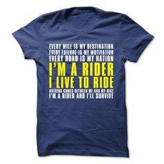 IM A RIDER TSHIRT - #tshirt redo #sweatshirts. CHECK PRICE => https://www.sunfrog.com/Automotive/IM-A-RIDER-TSHIRT.html?68278