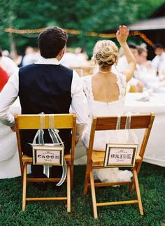 wedding bride and groom chairs folding lounge for outside 129 best chair signs images ideas marriage don t forget the makes a great photo