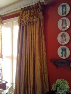 Southern Chateau: My Fancy New Curtains!