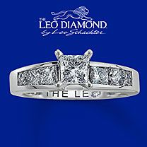Handcrafted by the diamond artisans at Leo Schachter. This near-colorless carat round diamond is secured by platinum prongs in high-polish white gold and laser-inscribed with your unique Gemscribe® number. Leo Diamond Ring, Diamond Solitaire Rings, Kay Jewelers Engagement Rings, My Engagement Ring, Rings For Her, White Gold Rings, Jewelry Stores, Just In Case, Wedding Rings