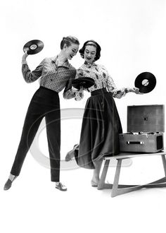 ❥ playing records