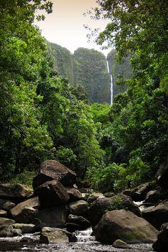 The Big Island, Hawaii. Looks like pololu. Gorgeous hike.
