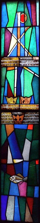 Cathedral. Window by Einar Forseth, 1961.