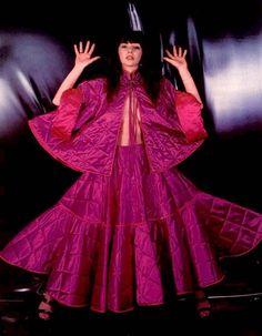Kate Bush 1978/1979 in a Fong Leng dress