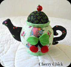 Mary Engelbreit Pincushion with Cherries <3