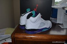 5b4427b2af2ba3 Air Jordan 5 V Retro Grape 2013 Cement 3 fire grapes 4 iv 11 XI concord